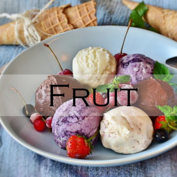 fruit ice cream recipe