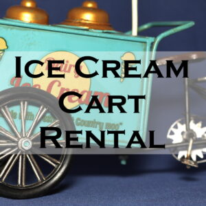 Ice Cream Cart Rental