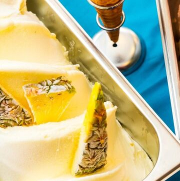 Easy Pineapple Ice Cream