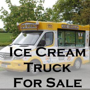 Ice Cream Truck For Sale