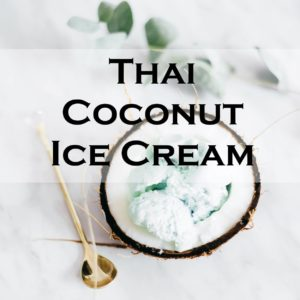 Thai Coconut Ice Cream