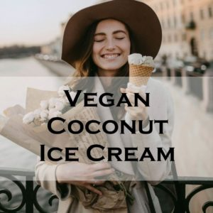 Vegan Coconut Ice Cream