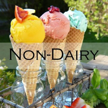 Non Dairy Ice Cream Recipe