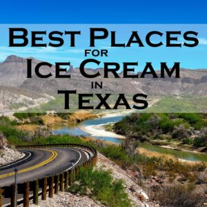 Best Places Ice Cream Texas