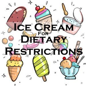 Ice Cream Dietary Restrictions