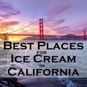 Ice Cream California