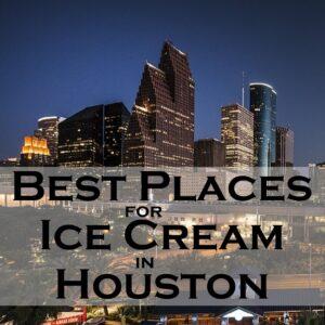 Ice Cream Houston