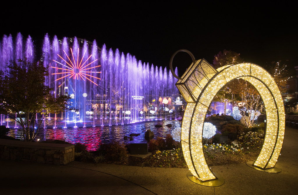 Island in Pigeon Forge Three Forks