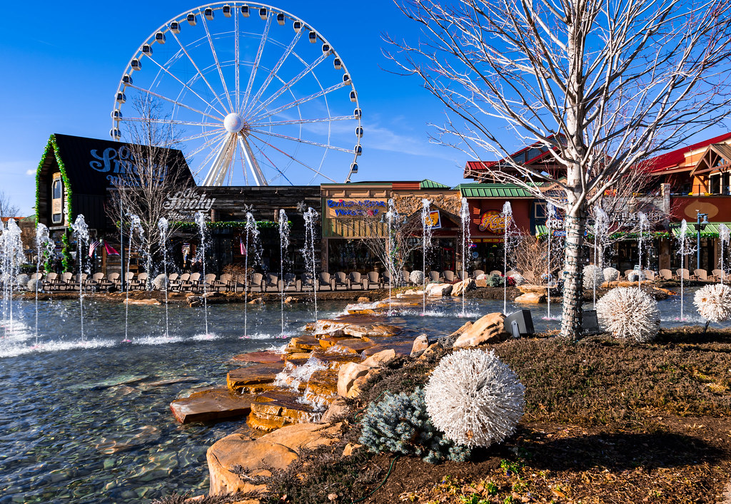 Island in Pigeon Forge Wear Valley